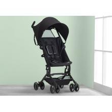 Clutch Plus Travel Stroller with Recline - Black (001)
