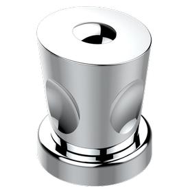 2-function deck diverter with trim