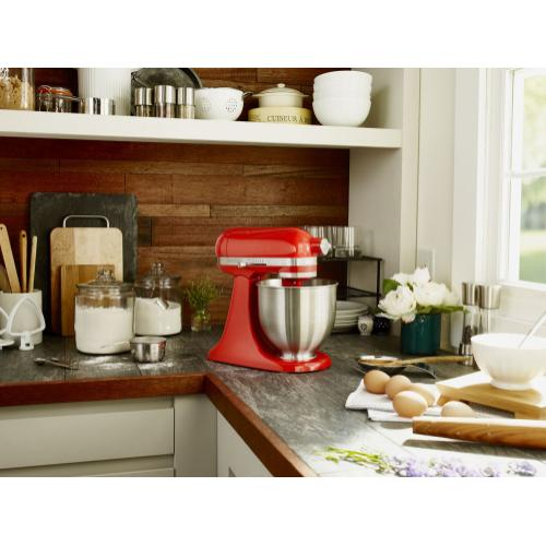 Artisan® Mini 3.5 Quart Tilt-Head Stand Mixer - Hot Sauce