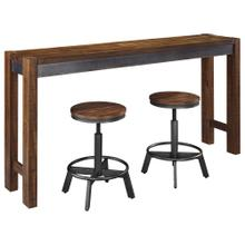 3 Piece Set (Pub Table and 2 Adjustable Height Stools)