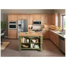 See Details - Tuscan Furniture-Style Kitchen Island