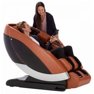 Super Novo Massage Chair - Red SofHyde
