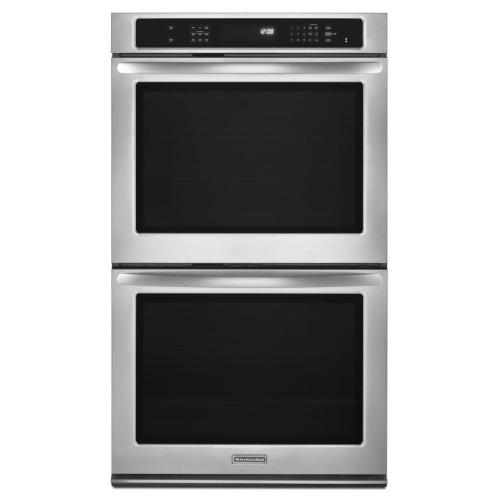REFURBISHED 27-Inch Convection Double Wall Oven, Architect® Series II - Stainless Steel. (This is a Stock Photo, actual unit (s) appearance may contain cosmetic blemishes.  Please call store if you would like actual pictures).  This unit carries our 6 month warranty, MANUFACTURER WARRANTY and REBATE NOT VALID with this item. ISI 39790