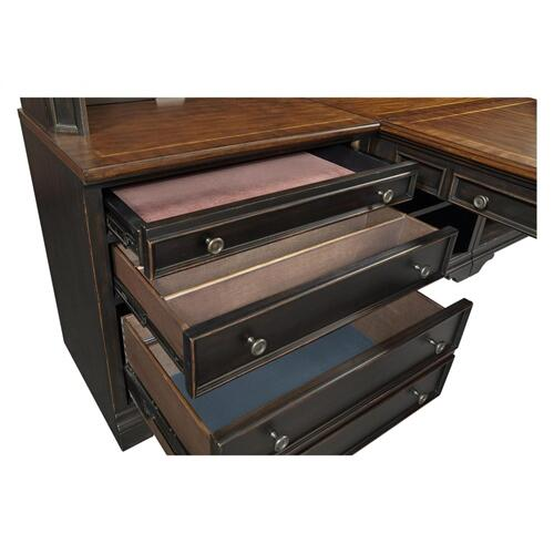 3 Drawer Base w/ File