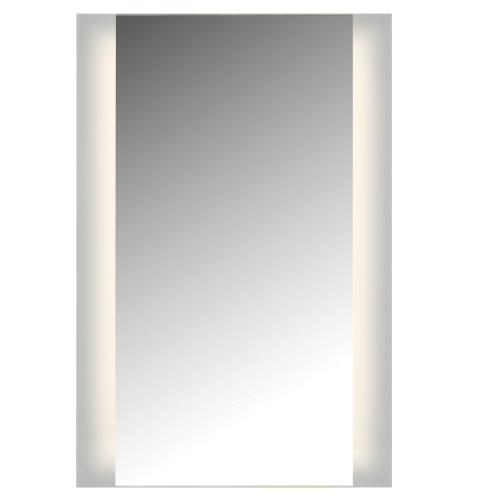 "LED, 2 Sided Ada Mirror. 3K, Non-Dimmable, 24""W X 36""H With Easy Cleat System"