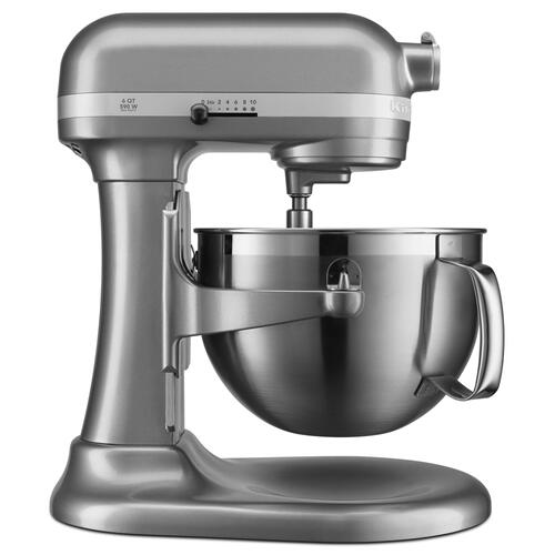 KitchenAid Canada - 6 Quart Bowl-Lift Stand Mixer - Contour Silver