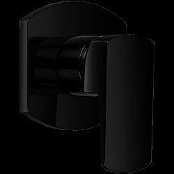Safire Pressure Balance Mixer Trim Kit Black Product Image