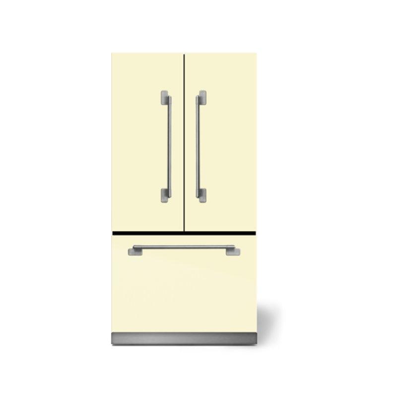"""AGA Elise 36"""" French Door Refrigerator, Ivory"""