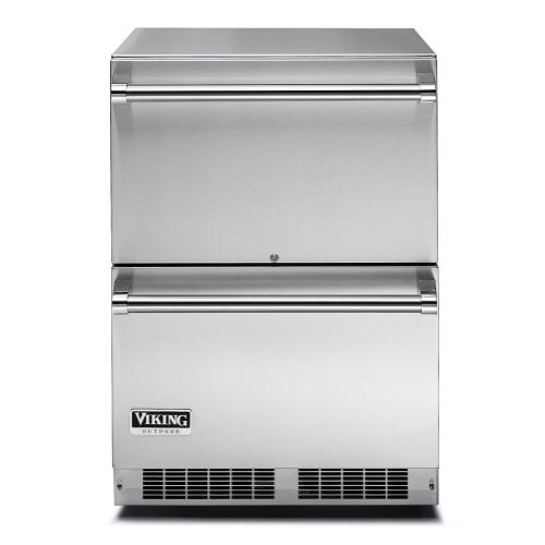 "24"" Refrigerated Drawers VDUO Viking Professional Product Line"