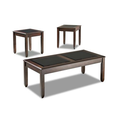 Klaussner - Living Room 3 Table Pack, 2 End,1 Cocktail 207-001 3PAK