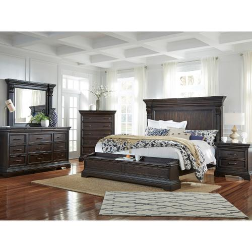King & California King Blanket Chest Footboard