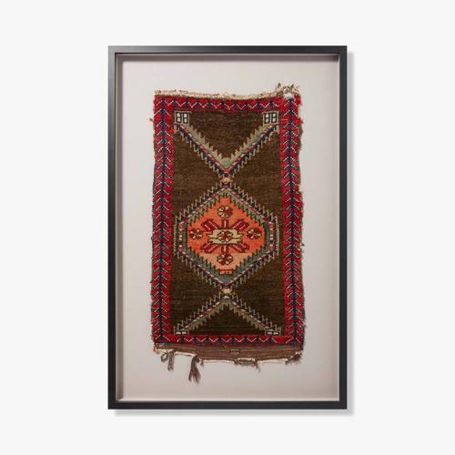 0350820016 Vintage Turkish Rug Wall Art