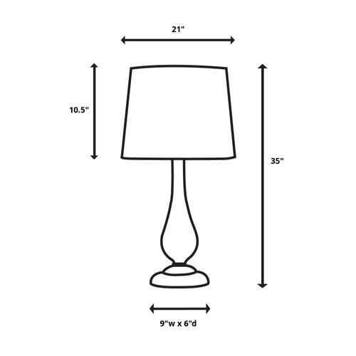 Product Image - Arrow Table Lamp
