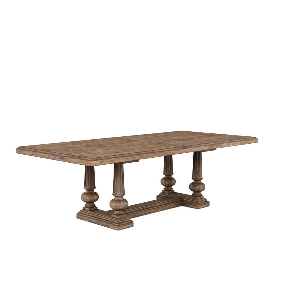 See Details - Architrave Trestle Dining Table