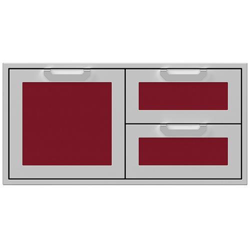 """Hestan - 42"""" Hestan Outdoor Combo Door/Drawer - AGSDR Series - Tin-roof"""
