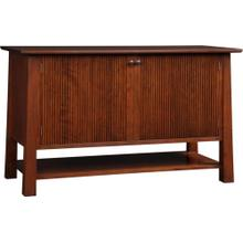 Oak Park Slope Entertainment Console