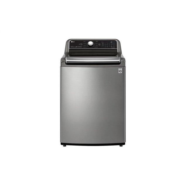 LG Appliances 4.8 cu. ft. Mega Capacity Smart wi-fi Enabled Top Load Washer with Agitator and TurboWash3D™ Technology