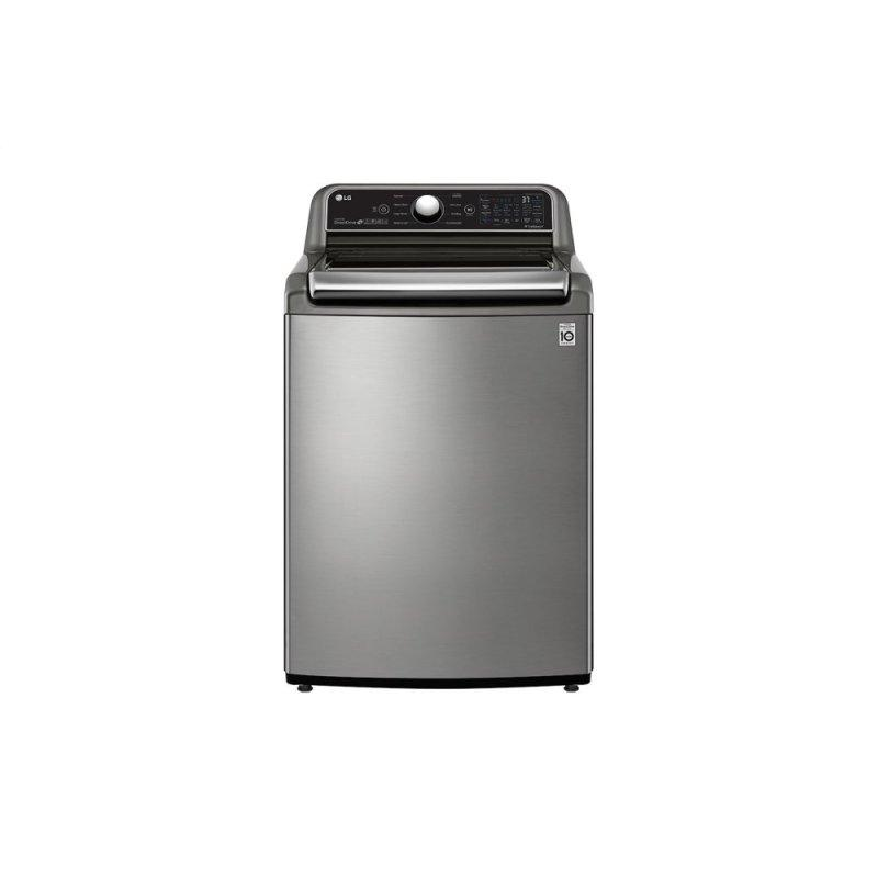 4.8 cu. ft. Mega Capacity Smart wi-fi Enabled Top Load Washer with Agitator and TurboWash3D™ Technology
