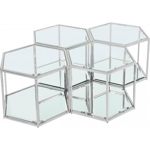 "Sei Modular 4 Piece Coffee Table - 40"" W x 58"" D x 16.5"" H"