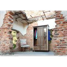See Details - 2 Drawer, 1 Sliding door, 1 Mirror Door Armoire