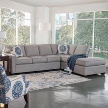 Gramercy Park Two-Piece Bumper Sectional