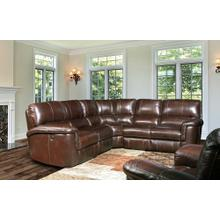 Alfred Cigar 5pc Sectional