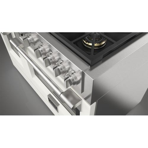 "48"" Dual Fuel Pro Range - Matte White"