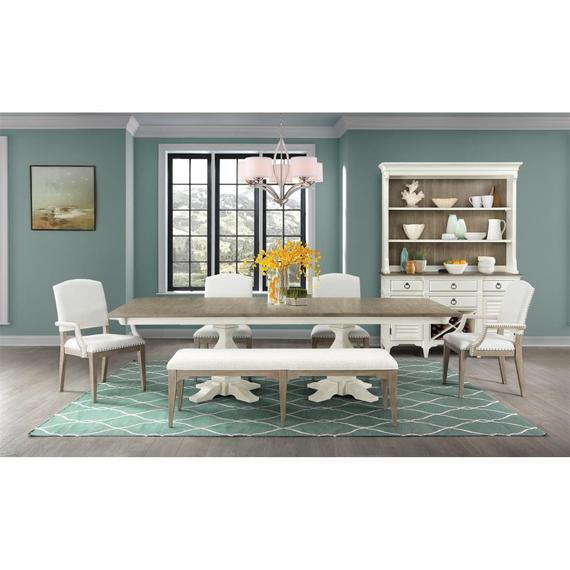 Riverside - Myra - Rectangular Dining Table Top - Natural/paperwhite Finish