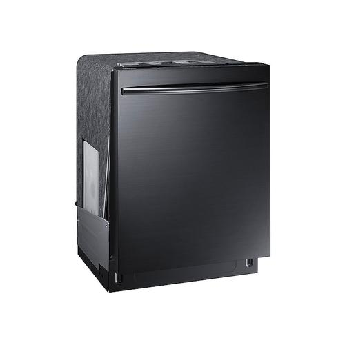 Samsung - StormWash™ Dishwasher with Top Controls in Black Stainless Steel