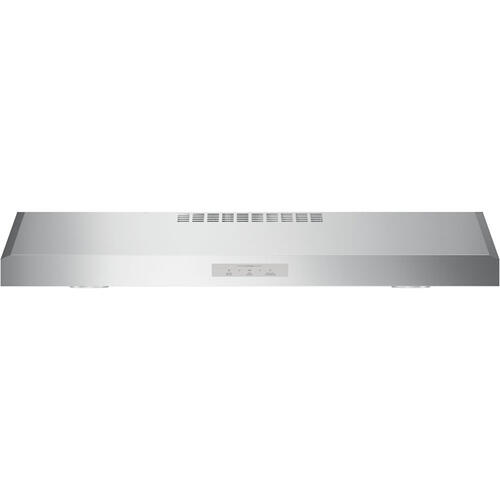"GE Profile 36"" Under the Cabinet Vent Hood Stainless Steel PVX7360SJSSC"