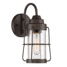 "12"" H Wall Lantern in Rustique"