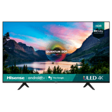 "50"" Class- U6G Series - 4K ULED Hisense Android Smart TV (2021)"