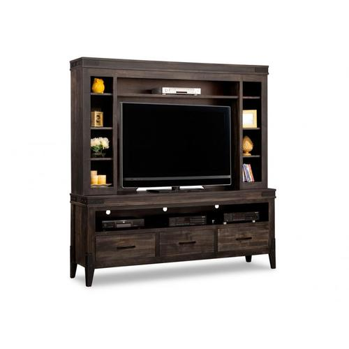 Handstone - Chattanooga HDTV Unit with Hutch with 54'' TV Opening