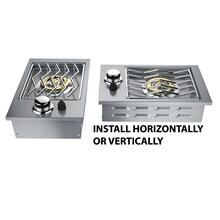View Product - Drop-In Single Side Burner Propane Grill