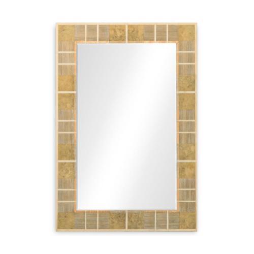 Pale Tartan mirror