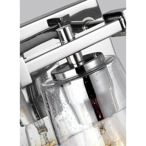 Mercer 3 - Light Vanity Chrome