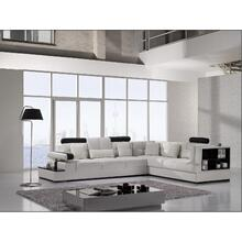Divani Casa T117 - Modern Leather Sectional Sofa
