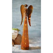 Rustica Angel w/ LED String Lights
