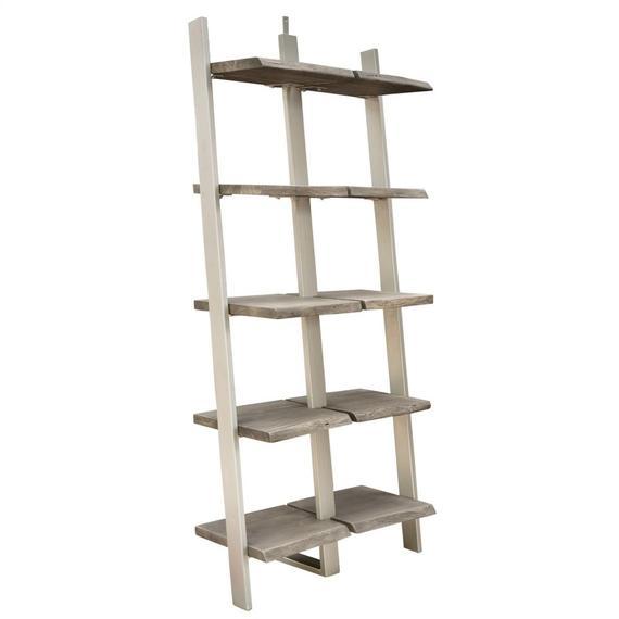 Riverside - Waverly - Bookcase Shelves - Sandblasted Gray Finish
