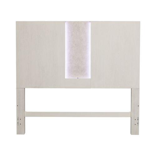 Liberty Furniture Industries - Queen Travertine Panel Headboard
