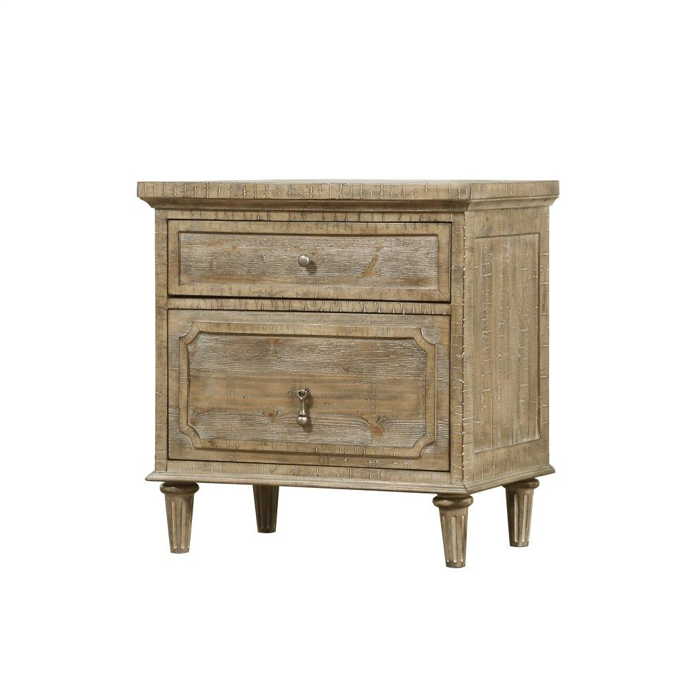 Emerald Home Interlude 2 Drawer Nightstand Sandstone B560-04-05