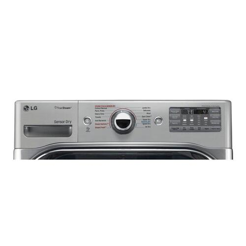 9.0 cu. ft. Mega Capacity Electric Dryer w/ Steam™ Technology