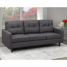 Tufted Sectional Sofa, Grey