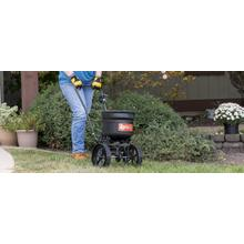 See Details - 50 lb. Deluxe Push Spreader - 45-0566