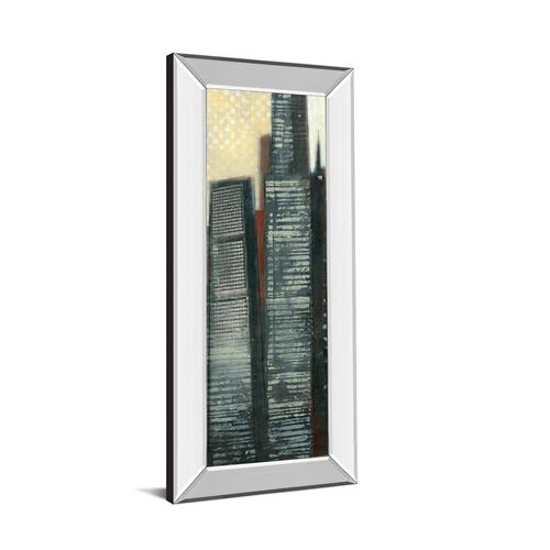 "Classy Art - ""Urban Landscape IV"" By Norman Wyatt Mirror Framed Print Wall Art"