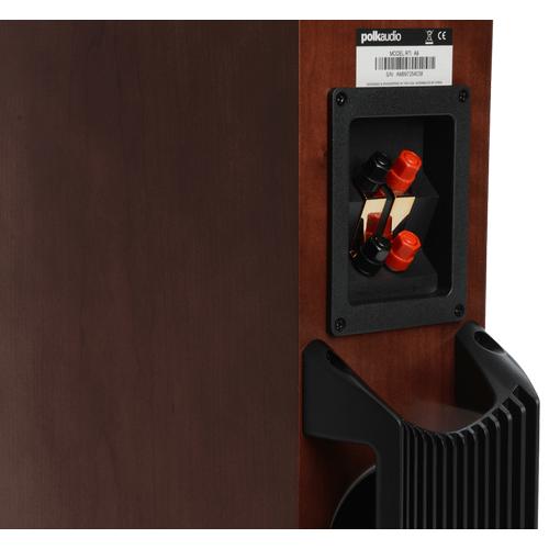 High performance floorstanding loudspeakers in Cherry