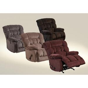 Catnapper 47652 Chocolate Chaise Rocker Recliner