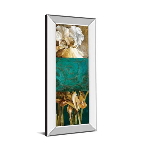 """From My Garden Il"" By Linda Thompson Mirror Framed Print Wall Art"