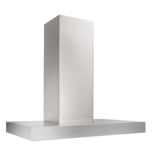 BEST Range Hoods - 30-inch 650 Max Blower CFM Stainless Steel Chimney Range Hood with PURLED™ Light System and Brushed Grey Glass (WCB3 Series)