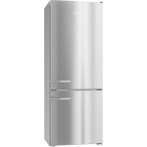 "Freestanding fridge-freezer 30"" (75 cm) wide for a lot of storage space."